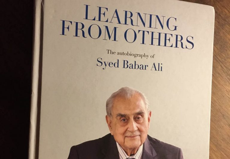 What makes Syed Babar Ali tick